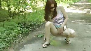 Fatima in the park